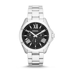 Love this watch! ~ Fossil Cecile Multifunction Stainless Steel Watch AM4534, $125 | Fossil.com