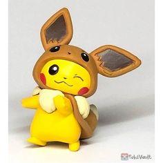 Pokemon Center Original FAN OF PIKACHU/&EIEVUI Mascot Gengar w//Official Tag