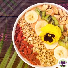 A bowl full of love and health food!     Now we're in Dubai! 😁 Hurry up and visit us on 📍 La Mer Dubai. Also register on our new website, stay tuned and get delicious promotions www.acaixpress.com.     #acai #acailovers #acaiabudhabi #acaiuae #healthyfood