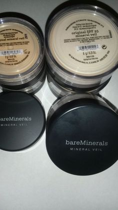 ONLY 1 LEFT!♥♥♥ #BAREESCENTUALS #BareMinerals ORIGINAL #MINERAL VEIL / SPF 25 ~ 2g-6g~Pick ONE #BareEscentualsBareMinerals #FemaleFunk #Makeup #Jewelry #Shapewear #SALE!♥♥♥