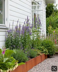 I like this flower bed. Curb Appeal raised plant beds I like this .I like this flower bed. Curb Appeal raised plant beds I like this flower bed. Plants For Raised Beds, Raised Garden Beds, Raised Flower Beds, Home Landscaping, Landscaping With Rocks, Garden Cottage, Home And Garden, Garden Sofa, Fence Garden