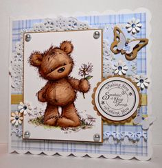 Amanda's Paper Palace: JAMES BEAR