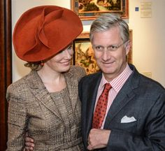 Posted on October 2, 2013 by HatQueen ...King Philippe and Queen Mathilde of Belgium visited Namur, the capital of Wallonia and Namur provinces today.