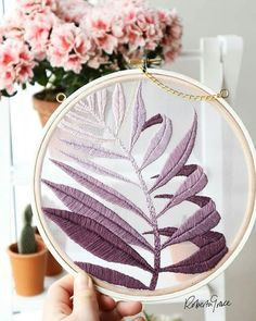 Embroidery Patterns - Embroidery Patterns And Ideas At Your Fingertips! Hand Embroidery Stitches, Silk Ribbon Embroidery, Embroidery Techniques, Embroidery Thread, Cross Stitch Embroidery, Embroidery Patterns, Machine Embroidery, Floral Embroidery, Contemporary Embroidery