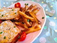 Texasi kukoricás csirkés vagdalt baconburokban sütve hasábburgonyával - gluténmentes http://mediterran.cafeblog.hu/2017/05/30/izes-kalandok-texasi-kukoricas-csirkes-vagdalt-baconburokban-sutve/