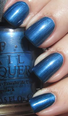 OPI Fall 2012 Germany Collection (Unfor-greta-bly Blue)