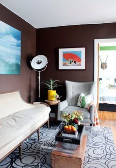 The Best Paint Colors: 10 Behr Dramatic Darks Chocolate Sparkle (770B-7)