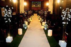 Decoração de casamento cerimônia na igreja