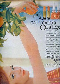 Max Factor-Seventeen Magazine, 1961