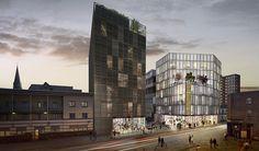 david adjaye's design of hackney fashion hub has been granted permission - designboom | architecture