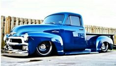 1954 Chevrolet Pickup With Steelies (Detroit Steel Wheels) she's a beast! 54 Chevy Truck, Chevy 3100, 1955 Chevy, Classic Chevy Trucks, Chevy Pickups, Chevrolet Trucks, 1955 Chevrolet, Bagged Trucks, Gm Trucks