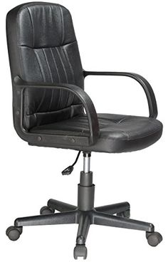 #bedroom #homedesign The multipurpose Leather Mid-Back Office Chair is an ideal choice for your office or kid's study room. #This ergonomically designed executiv...