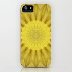 Mandala intellect iPhone & iPod Case by Christine baessler - $35.00