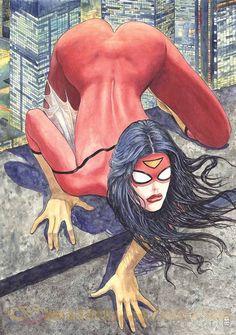 La Spider Woman di Milo Manara che non piace agli americani: troppo sexy - Corriere.it