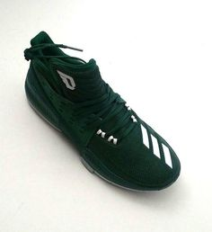 reputable site 76264 6bf10 Adidas Men Dame 3 BY3194 Green Basketball Shoes NBA Size 11 12 adidas