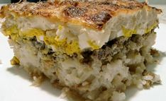 Rakott karfiol Lasagna, Quiche, Sandwiches, Breakfast, Ethnic Recipes, Food, Morning Coffee, Essen, Quiches