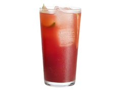 Cider-Pomegranate Sparkler : Combine 3 cups apple cider, 1 cup pomegranate juice and the juice of 2 limes. Pour into ice-filled glasses and top with seltzer. Garnish with lime wedges. via Food Network