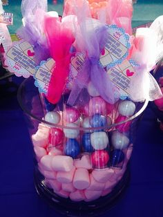 Fun favors at a Doc McStuffins girl birthday party!  See more party ideas at CatchMyParty.com