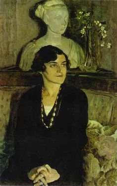 Portrait of Elizaveta Tal by Mikhail Nesterov