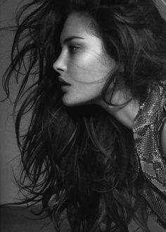 beautiful photography + windswept hair