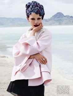 Mia Goth by Catlin Cronenberg for Vogue Italia