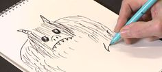 How to Draw Monsters from Author Tony Ross! Great short video for Teachers/Students to use in the class.