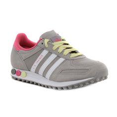 Adidas La Trainer W Scarpe Donna Grigie Pelle B35562