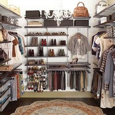 I love big closets!!!