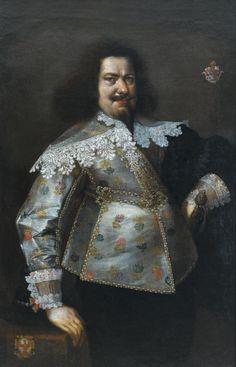 F. Kessler, Portret Mikołaja Konstantego Giese (Giza), 1642