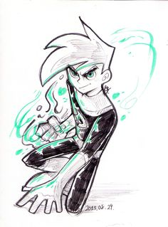 danny phantom sketches | Danny Phantom by Bayaruska