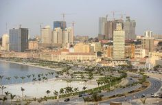 Luanda, Angola largest oil producer in Africa. China has been insinuating themselves into Luanda via China International Trust and Investment Corp. This will create a fiat debt saturation, allowing China a major foothold in the region. Paises Da Africa, Paris Skyline, New York Skyline, Costa, Africa Continent, All About Africa, Travel Itinerary Template, Corporate America, Capital City