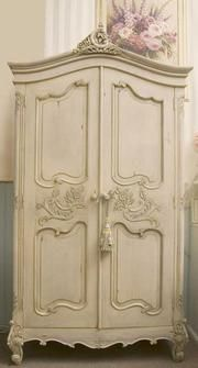 Malmaison Botanical Interiors french provincial furniture french country furniture french brands laguiole la rochere shabby chic homewares - French Louis Style Armoire