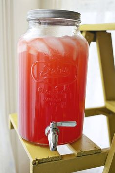 First Kiss Punch Recipe -- hibiscus/sorrel punch!!!