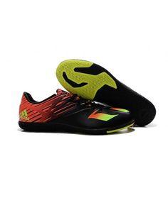 reputable site 8ec4f 8f122 Adidas MESSI 15.3 IN Botas De Fútbol Negro Naranja Bright-Amarillo