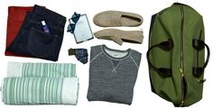 Gents: How to pack for the Memorial Day weekend.