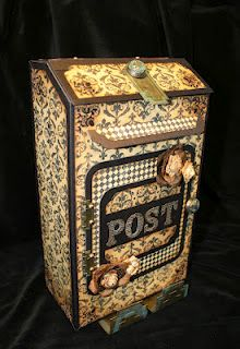 Vintage mailbox..... Laura from following the paper trail.com