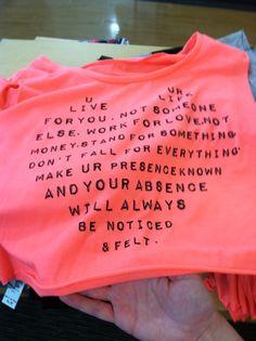i saw this shirt the same hour as out talk @Nikia McQuade