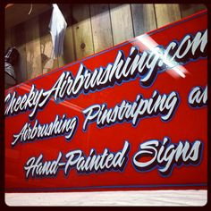Sign painter Melbourne