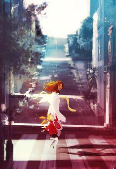 A hop, skip and a jump. by PascalCampion.deviantart.com on @deviantART