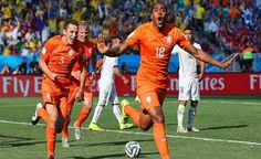 Segundo gol de Holanda vs Chile