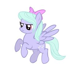 extra back round ponies mlp   Flitter vector: MLP:FiM by Serginh