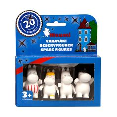 Moomin Family Figures – Set of 4 | The Moomin Shop