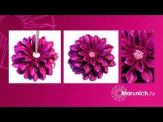Polymer clay flowers tutorial