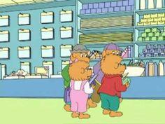The Berenstain Bears - The Stinky Milk Mystery (1-2) - YouTube