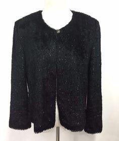Lucky Brand Womens Cardigan Knit Wool Orange Sweater Long Sleeve ...