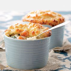 Biscuit-topped Vegetable Pot Pies | Coastalliving.com