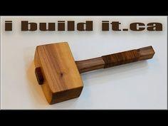 Making A Wooden Mallet – WooDesigner