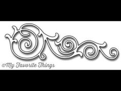 Formal Flourish Die-namics from My Favorite Things - YouTube #mftstamps
