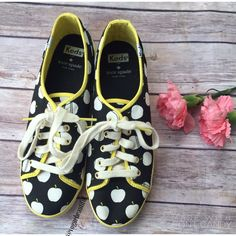 Kate Spade Keds 100% authentic • So cute!!! • Apple print Keds • Size 7.5 • NO TRADES • kate spade Shoes Sneakers