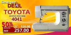 SEW-PER DEAL! Toyota 4040 #sale #discount #clearance #sewing #machine #toyota